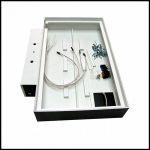Крышка - конструктор на прямоугольный аквариум размерами 500х295 мм, не открывающаяся, набор для монтажа