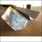 Отражатель трапециевидный для лампы Т8 40 Вт из алюминия