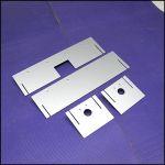 Аквариум - выноска c железным дном размерами 400х270х100