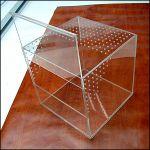 Террариум для паука птицееда размерами 250х250х250