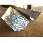 Отражатель трапециевидный для лампы Т5 24 Вт из алюминия