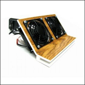 Кулер для охлаждения аквариума на 2 вентиляторах