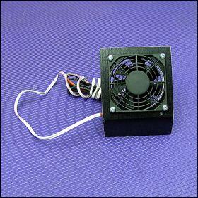 Кулер для охлаждения аквариума на 1 вентиляторе