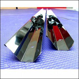 Отражатель трапециевидный для лампы Т5 80 Вт из нержавеющей стали