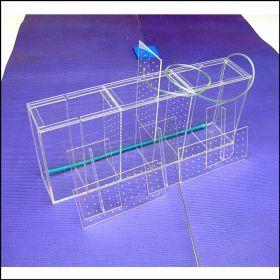 Аквариум - выноска для торговли размерами 600х120х250