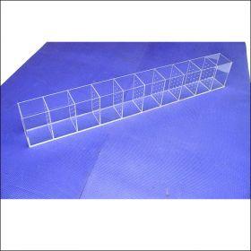 Аквариум - выноска для петушков (Betta) размерами 1000х100х150