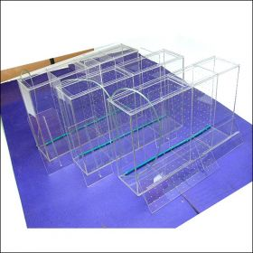 Аквариум - выноска для торговли рыбой размерами 600х400х150