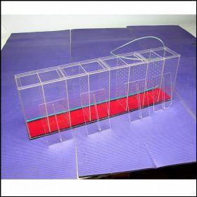 Аквариум - выноска c железным дном размерами 800х270х130