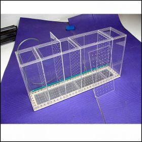 Аквариум - выноска c железным дном размерами 600х300х150
